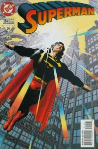 Superman (2nd Series) #114 VF/NM; DC | save on shipping - details inside