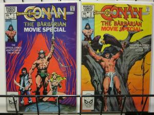 CONAN THE BARBARIAN MOVIE SPECIAL 1-2  J.Buscema
