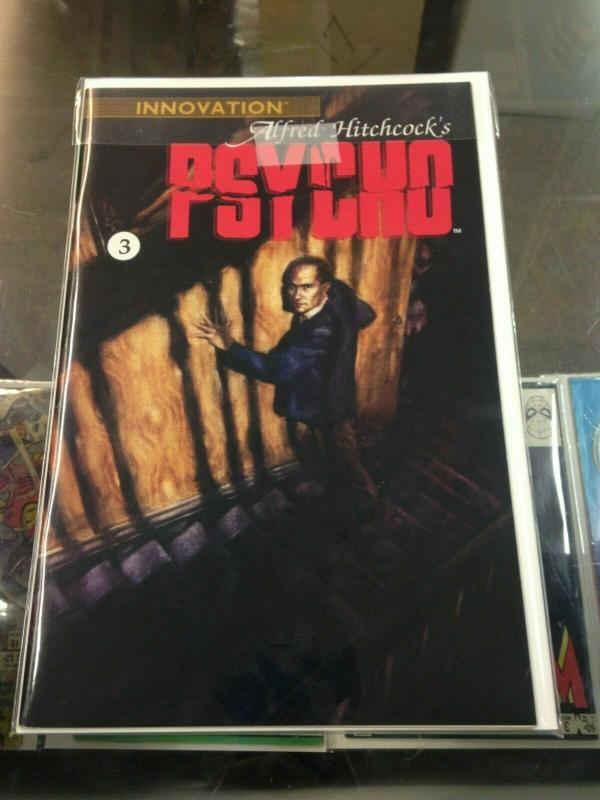 Psycho 1-3 comic set Alfred Hitchcock