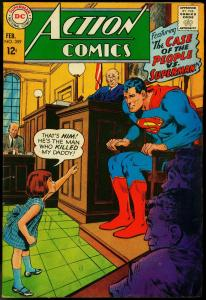 ACTION COMICS #359 1968-SUPERMAN-NEAL ADAMS COVER-DC FN