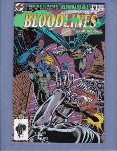 Detective Comics Annual #6 NM- Batman DC 1993