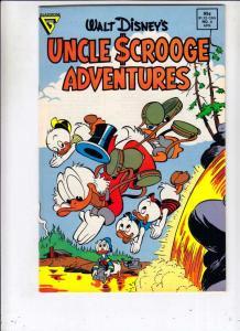 Uncle Scrooge Adventures #4 (Apr-88) NM- High-Grade Uncle Scrooge