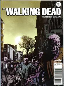 WALKING DEAD MAGAZINE #1, NM, Zombies, Kirkman, 2012, more TWD & Horror in store