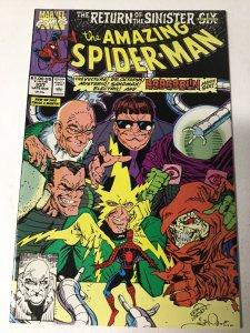 Amazing Spider-man 337 Vf Very Fine 8.0 Marvel
