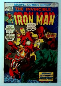 Iron Man #68 Marvel 1974 FN- Bronze Age 1st Printing Comic Book