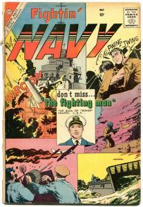 Fightin' Navy #92 1960-Charlton silver age- Glanzman cover G-