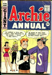 Archie Annual #11 1959-Betty-Veronica-Giant Issue-G