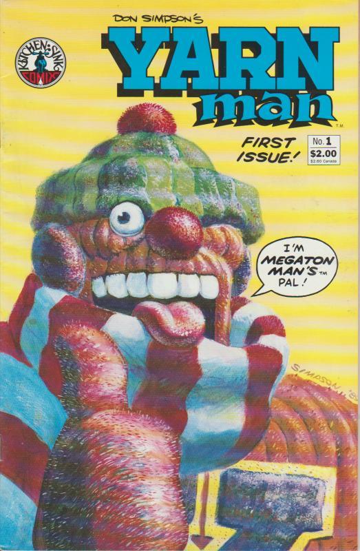 YARN MAN #1 - MEGATON MAN'S PAL