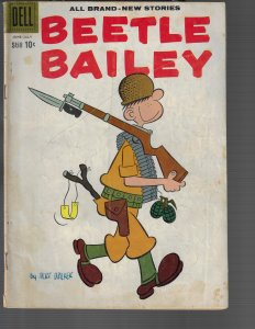 Beetle Bailey #21 (Dell, 1959)