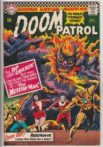 Doom Patrol #103 (May-66) FN/VF Mid-High-Grade Proffesor, Negative Man, Elast...