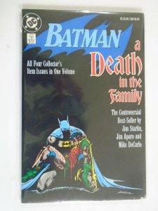 Batman A Death in the Family TPB #1 SC 5.0 VG FN (1988 1st Printing)