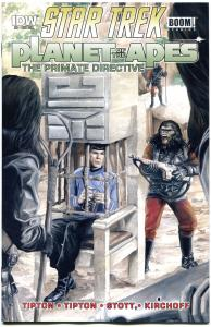 STAR TREK PLANET of the APES #4, NM, Damn Dirty Apes, 2014, IDW, more in store,L