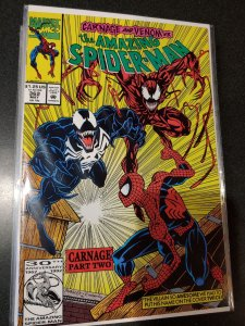 The amazing spider-man #362 2ND APPEARANCE OF CARNAGE