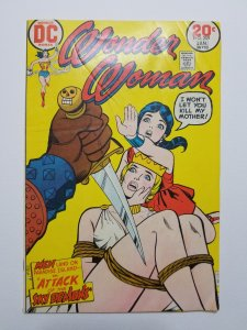 Wonder Woman #209 VF 1973 Rick Estrada Bondage Cover
