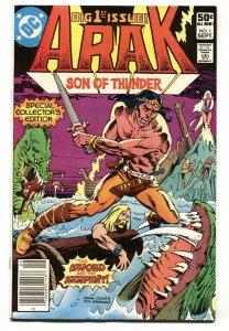 Arak Son of Thunder #1 1981 comic book First issue VF