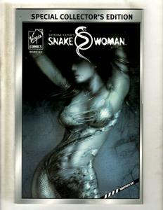 Lot of 10 Virgin Comics Snake Woman # 1 2 Ramayan 3392 AD 1 2 3 4 5 7 +MORE J363