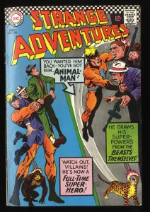 Strange Adventures #195 VG/FN 5.0 Animal Man! DC Comics
