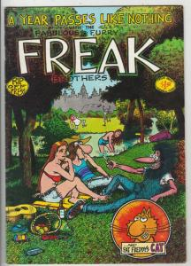 Fabulous Furry Freak Brothers #3 (Jan-80) FN/VF Mid-High-Grade The Freak Brot...