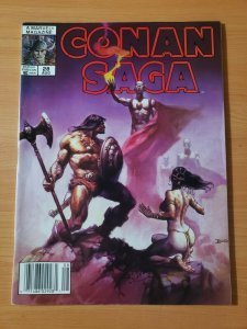 Conan Saga #28 ~ NEAR MINT NM ~ 1989 Marvel Comics