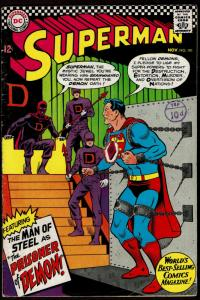 Superman #191  (Nov 1966 DC)  4.0 VG