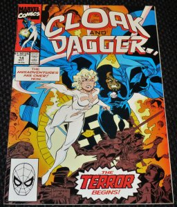 The Mutant Misadventures of Cloak and Dagger #14 (1990)
