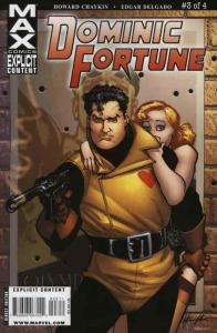 Dominic Fortune #3 VF/NM; Marvel | save on shipping - details inside