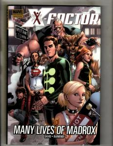 X-Factor Many Lives Of Madrox Marvel Comics HARDCOVER Graphic Novel Book J370