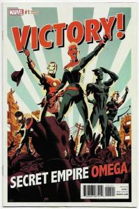 Secret Empire Omega #1 Cho Variant (Marvel, 2017) NM