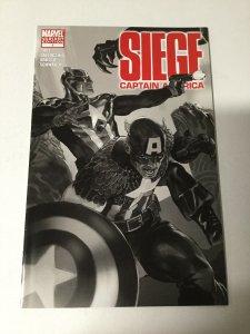 Siege: Captain America 1 Nm Near Mint Variant Marvel