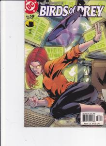 Birds of Prey #58