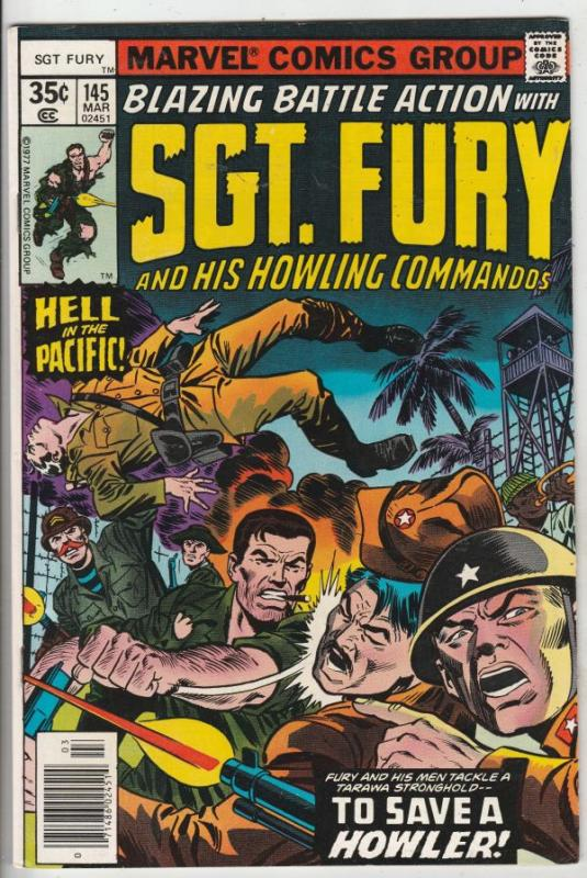Sgt. Fury and His Howling Commandos #145 (Mar-78) NM/NM- High-Grade Sgt. Fury...