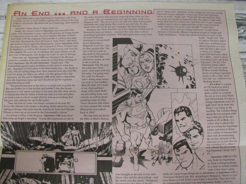 2004 Comic Shop News #857 Superman 200