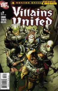 Villains United #3 VF/NM; DC | save on shipping - details inside