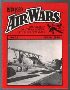 Air Wars #21  Spring 1990-Aircraft & air warfare of the middle years 1919-1939-F