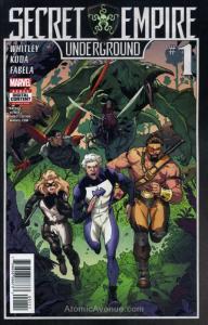 Secret Empire: Underground #1 VF/NM; Marvel | save on shipping - details inside