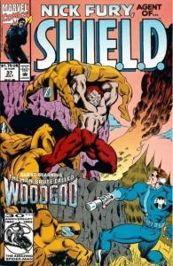 Nick Fury: Agent of SHIELD (1989 series) #37, VF+ (Stock photo)