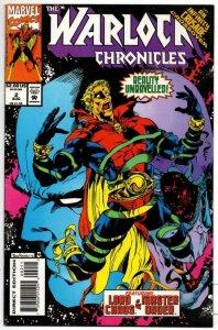 WARLOCK CHRONICLES #2, VF/NM, Jim Starlin, Marvel 1993 more in store