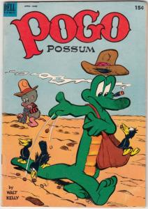Pogo Possum #12 (Apr-53) FN/VF Mid-High-Grade Pogo Possum, Albert Aligator