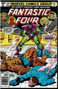 Fantastic Four #206, 9.0 or Better *KEY* 1st Empress R'Klll Ruler of Skrulls