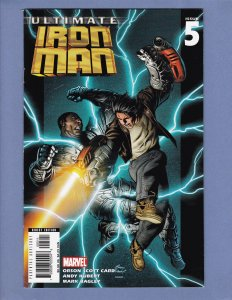 Ultimate Iron Man #5 VF Marvel 2006