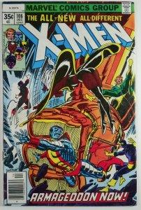 The Uncanny X-Men #108 - FIRST JOHN BYRNE ART - Newsstand - Marvel 1977
