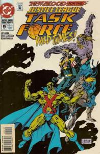 Justice League Task Force #9 VF/NM; DC   save on shipping - details inside