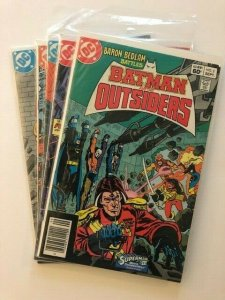 LOT of 5-DC- BATMAN AND THE OUTSIDERS #2-5 1983 & #7 1984 F/VF (A131)