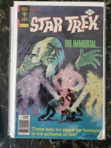 Star Trek #77 (Gold Key,1977) Whitman Condition VG/FN