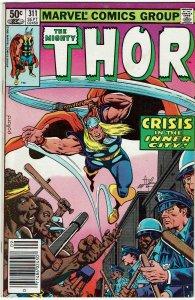 Thor #311 (1966 v1) Newsstand VF+