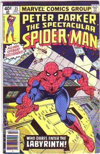 Spider-Man, Peter Parker Spectacular #35 (Oct-80) FN Mid-Grade Spider-Man