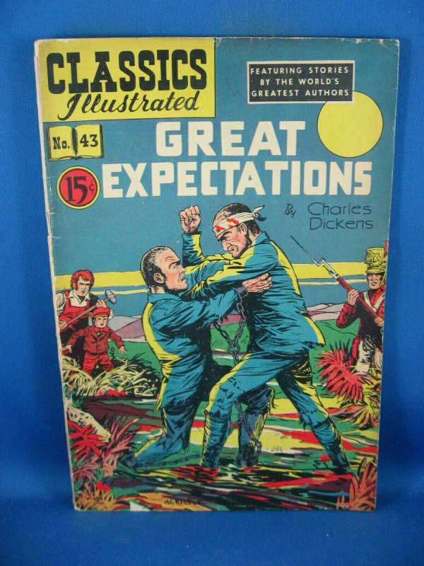 CLASSICS ILLUSTRATED 43 VG+ GREAT EXPECTATIONS 1948 CAN ED HRN 44