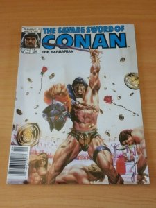 The Savage Sword of Conan #147 ~ VERY FINE VF ~ 1988 Marvel Comics
