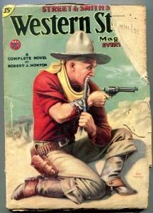 Western Story Pulp April 21 1934- Max Brand- Robert J Horton