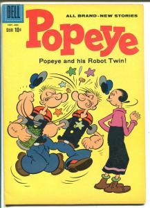 Popeye #56-1960-Dell-Robot Twin-FN